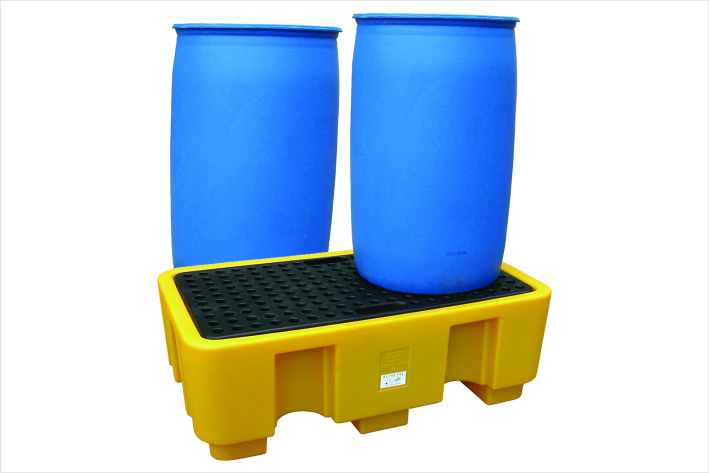 244 Gallon - 205 Litre Drum Spill Pallet