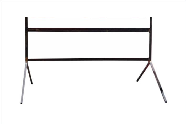Multi-message Frame Bipod Folding Legs