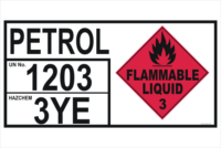 Petrol Emergency Information Panel