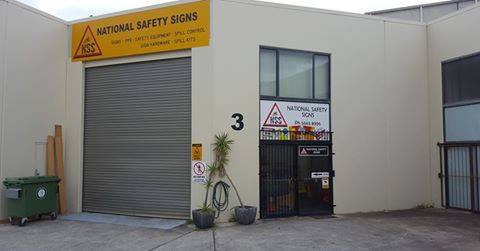 National safety Signs Safety Signs Helensvale