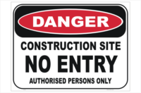 Building & Construction Signs