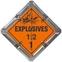 Explosives 1.2 Placard