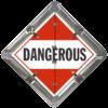 Explosives Dangerous Placard