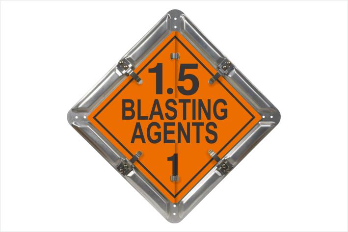 Blasting Agents 1.5 Placard