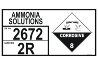 Ammonia Solutions storage EIP