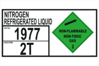 Nitrogen Refrigerated Liquid Storage panel