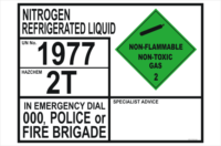Nitrogen Refrigerated Liquid Transport Panel