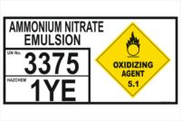 Ammonium Nitrate Emulsion storage EIP
