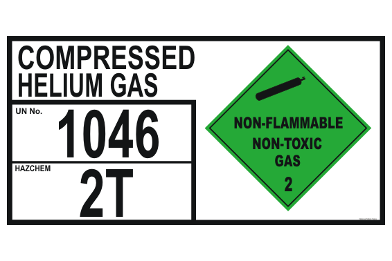 Compressed Helium Gas storage EIP