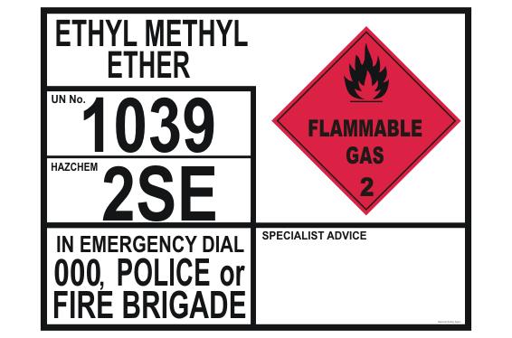 Ethyl Methyl Ether transport EIP