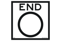 End Speed Limit road sign