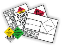 Dangerous Goods Panels & Placards