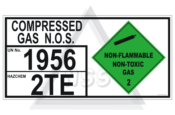 Compressed Gas NOS storage panel