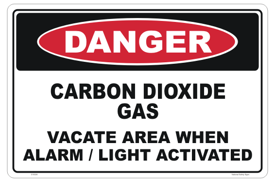 Carbon Dioxide Gas sign