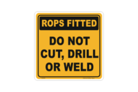 Rops Fitted Sign