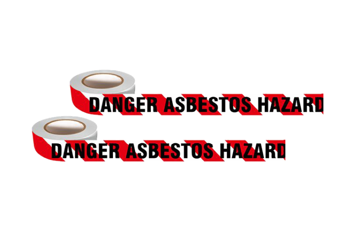 Asbestos Barricade Tape