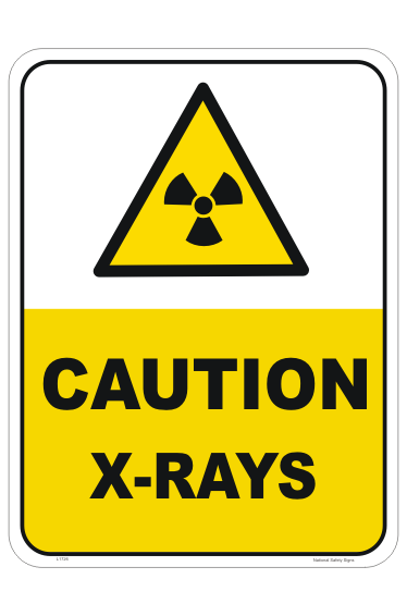 Caution X-Rays Sign