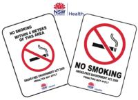 NSW Smoking Signs