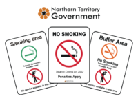 Northern Territory Smoking Signs