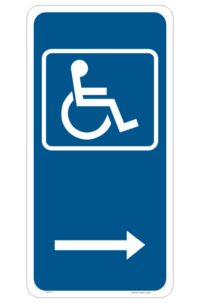 Disabled Parking Sign - Disabled parking space sign