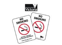 Victoria Smoking Signs