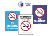 Western Australia Smoking Signs