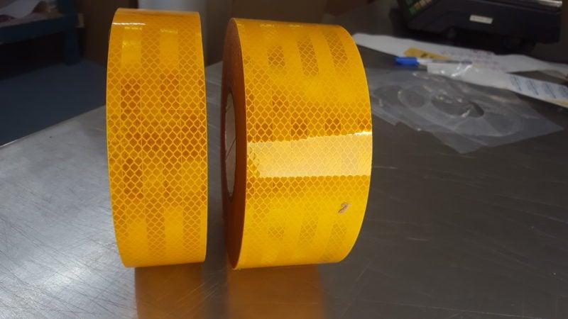 Class 1 Reflective Yellow Tape