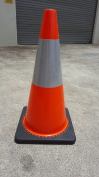 Budget reflective Traffic Cone