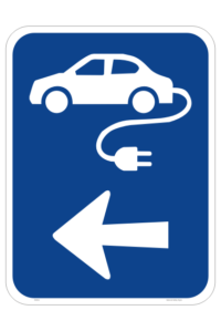 Electric Vehicle Station sign