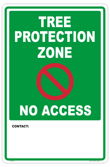 AS4970 Tree Protection Zone Sign