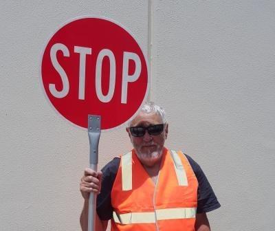 Stop Slow Baton