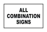 All Combination Signs