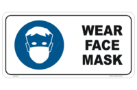 Face Mask Mandatory Sign
