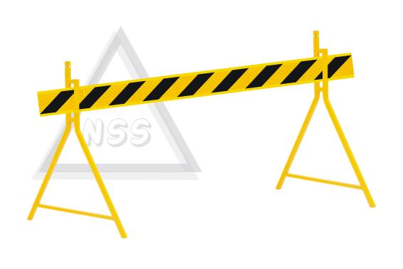 Barrier Board. Shoulder - Median - Centre lane