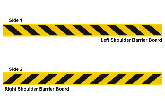 Road Shoulder Barrier Board - roadside barriers