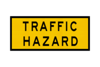 T1-10A Traffic Hazard Sign