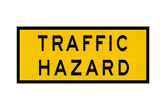 T1-10A Traffic Hazard Sign