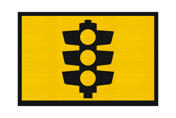 T1-30A Traffic Light sign