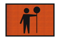 T1-34-1A Traffic Controller Sign