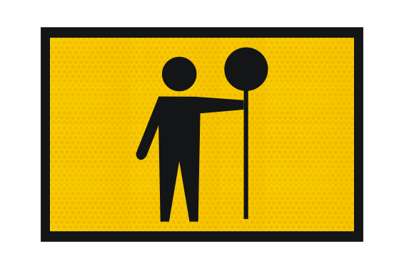 T1-34-2A Traffic Controller sign