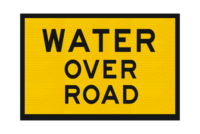 T2-13A Water Over Road Sign