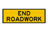 T2-16A End Roadwork Sign