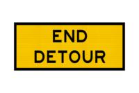 T2-23 End Detour Sign