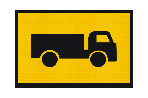 T2-25A Truck Sign