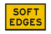 T3-6A Soft Edges Sign