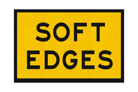 T3-6A Soft Edges Sign