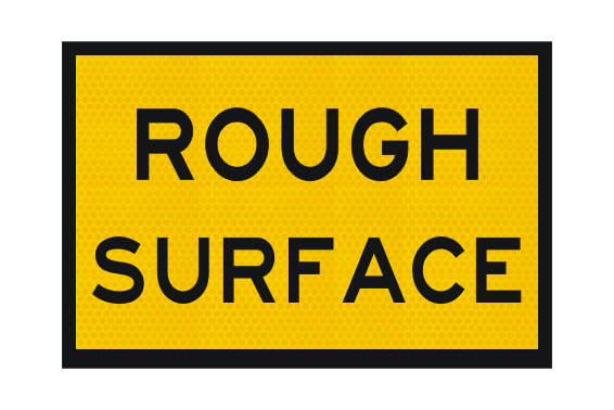 T3-7A Rough Surface Sign