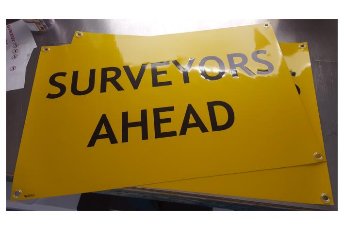 Surveyors Ahead