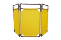 Tri-Panel Safety Barrier