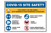 Site Health Safety Sign